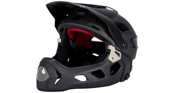 UVEX jakkyl hde Helmet black-dark silver mat